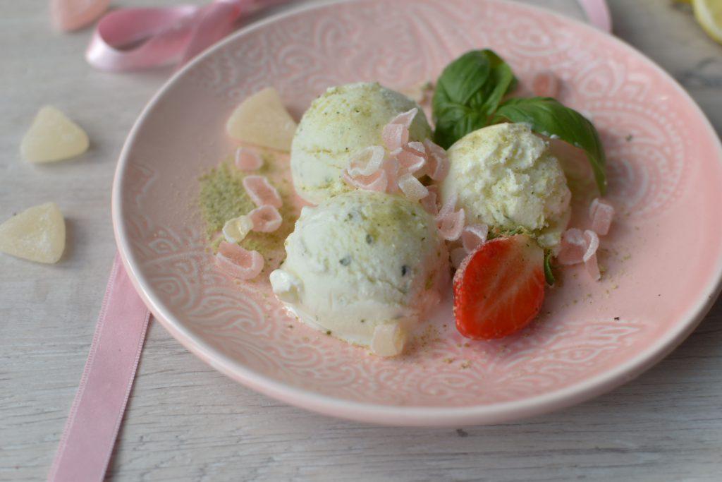 grapefruitová zmrzlina