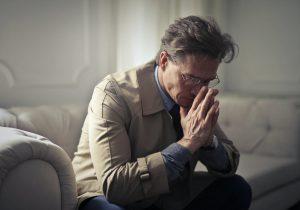 smutný muž